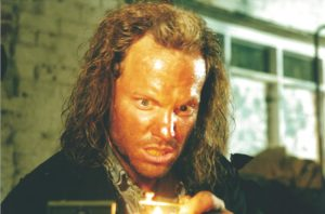 "Adam Baldwin as ""The Keyman"""