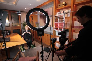 lighting for an interview