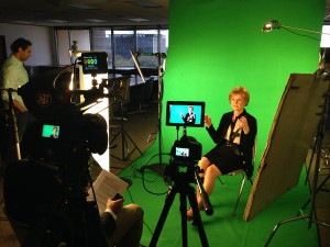 greenscreen corporate production interview