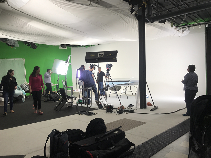National Commercial Shoot- The Quick Turnaround